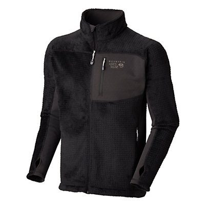 Mountain Hardwear Hoodless Monkey Man Grid Mens Jacket, Black, viewer