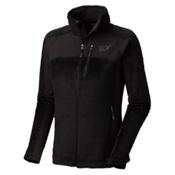 Mountain Hardwear Hoodless Monkey Woman Grid Womens Jacket, Black, medium