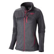 Mountain Hardwear Hoodless Monkey Woman Grid Womens Jacket, Graphite-Bright Rose, medium