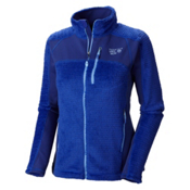 Mountain Hardwear Hoodless Monkey Woman Grid Womens Jacket, Nectar Blue, medium