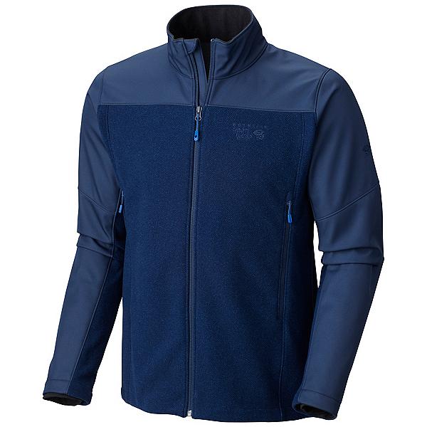 Mountain Hardwear Hybrid Toasty Tweed Mens Jacket, Collegiate Navy, 600