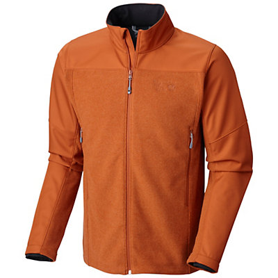 Mountain Hardwear Hybrid Toasty Tweed Mens Jacket, Collegiate Navy, viewer