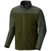 Mountain Hardwear Hybrid Toasty Tweed Mens Jacket, Greenscape, medium