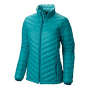 Mountain Hardwear Micro Ratio Down Womens Jacket, Emerald, medium