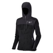 Mountain Hardwear Monkey Woman Grid Womens Jacket, Black, medium