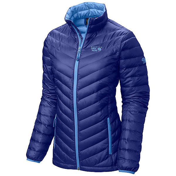 Mountain Hardwear Nitrous Down Womens Jacket, Nectar Blue, 600