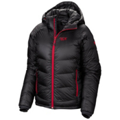 Mountain Hardwear Phantom Hooded Down Womens Jacket, Graphite-Bright Rose, medium