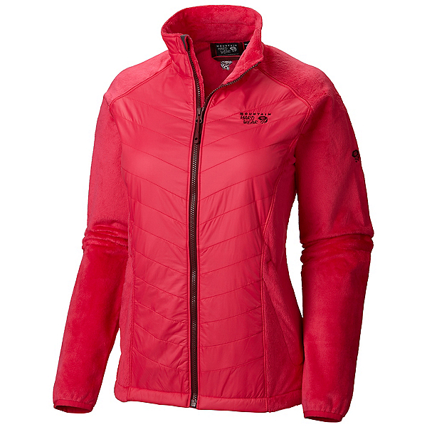 Mountain Hardwear Pyxis Hybrid Womens Jacket, Bright Rose, 600