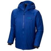 Mountain Hardwear Quasar Mens Insulated Ski Jacket, Azul, medium