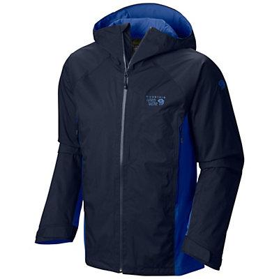 Mountain Hardwear Sluice Mens Shell Ski Jacket, Utility Green-Python Green, viewer