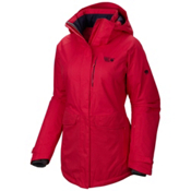 Mountain Hardwear Snowburst Parka Womens Insulated Ski Jacket, Bright Rose, medium