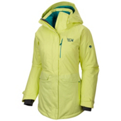 Mountain Hardwear Snowburst Parka Womens Insulated Ski Jacket, Neon Light, medium