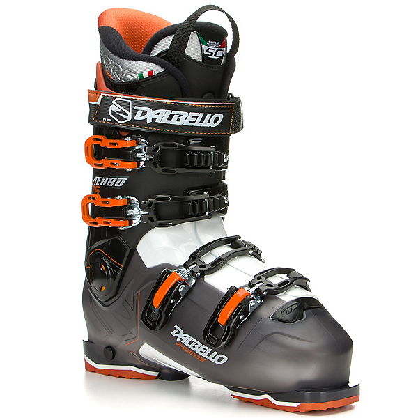 Dalbello Aerro 75 Ski Boots, Black Transparent-White, 600
