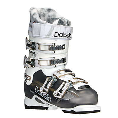 Dalbello Avanti 85 IF Womens Ski Boots, Black Transparent-White, viewer