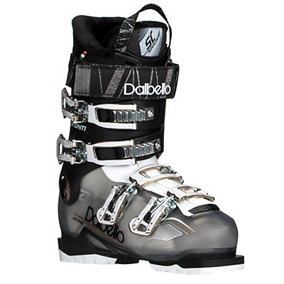 Dalbello Avanti 70 Womens Ski Boots, Black Transparent-Black, viewer