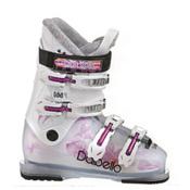 Dalbello Gaia 4 Girls Ski Boots, Transparent-White, medium