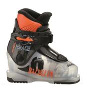 Dalbello Menace 1 Kids Ski Boots, Transparent-Black, medium