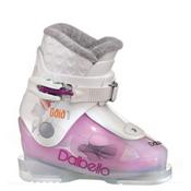 Dalbello Gaia 1 Girls Ski Boots, Transparent-White, medium