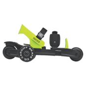 Cardiff Cruiser Lime Kids Inline Skates 2016, Black-Lime, medium