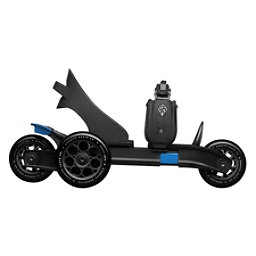 Cardiff Cruiser Small Kids Inline Skates, Black-Blue, 256