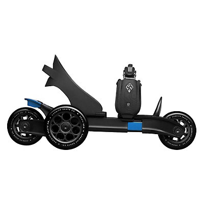 Cardiff Cruiser Small Kids Inline Skates, Black-Blue, viewer