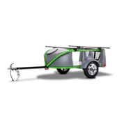 Sylvan Sport Go-Easy Loaded Green Trailer, , medium