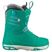 Salomon Ivy Womens Snowboard Boots, Clover Green-Grey-Green, medium