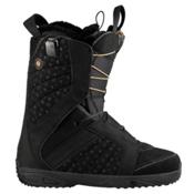 Salomon Kiana Womens Snowboard Boots, Black-Golden-Black, medium