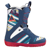 Salomon Kiana Womens Snowboard Boots, Bonfire Marine-White, medium
