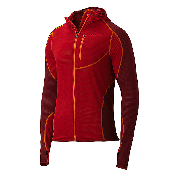 Marmot Thermo Mens Hoodie, Team Red-Brick, 600