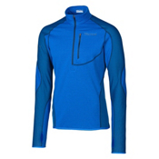 Marmot Thermo 1/2 Zip Mens Mid Layer, Peak Blue-Blue Sapphire, medium