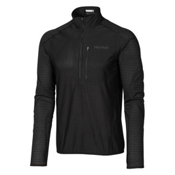Marmot Thermo 1/2 Zip Mens Mid Layer, Black, medium