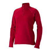 Marmot Stretch Fleece 1/2 Zip Womens Mid Layer, Raspberry, medium