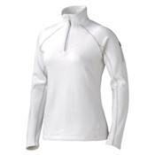 Marmot Stretch Fleece 1/2 Zip Womens Mid Layer, White, medium