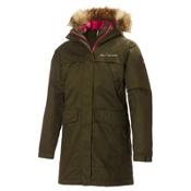 Helly Hansen Coastline Parka Womens Jacket, Olive Night, medium