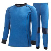 Helly Hansen Junior HH Warm Set Kids Long Underwear Top, , medium