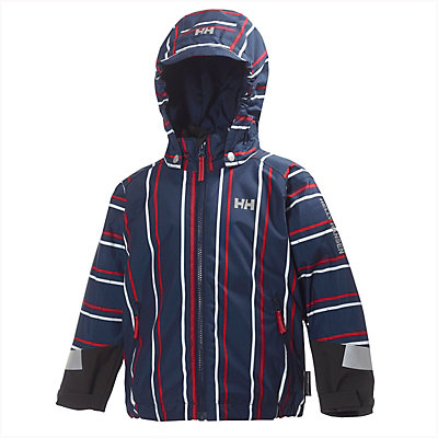 Helly Hansen Cover Insulated Toddler Ski Jacket, Evening Blue, viewer