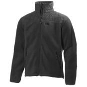 Helly Hansen October Pile Mens Jacket, Ebony, medium