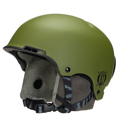 K2 Stash Audio Helmet, Moss, viewer
