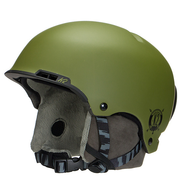 K2 Stash Audio Helmet, Moss, 600