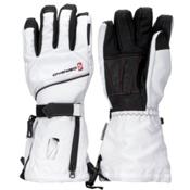Gerbing Snow 3 Women's Heated Gloves, White, medium