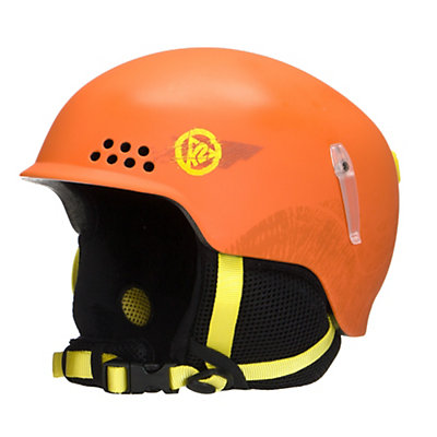 K2 Illusion Kids Helmet, Orange, viewer