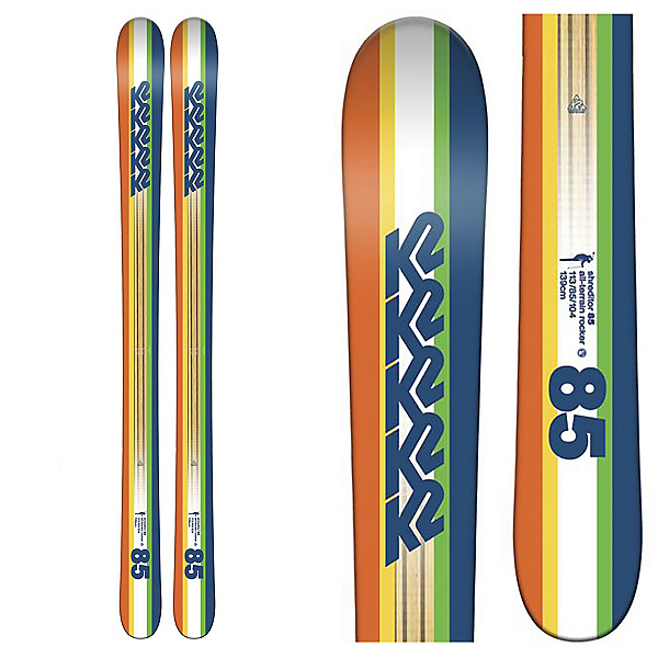K2 Shreditor 85 Jr. Kids Skis, , 600