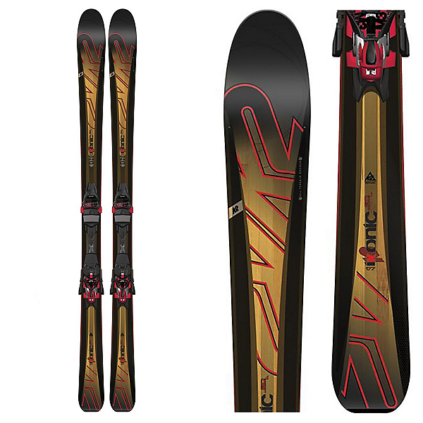 K2 iKonic 80 Skis with Marker M3 12TC Bindings, , 600