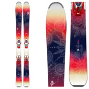 K2 OoolaLuv 85Ti Womens Skis with Marker ERC 11TC Bindings 2016, , medium