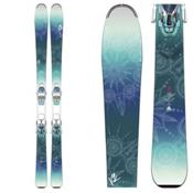 K2 Luv Sick 80Ti Womens Skis with Marker ERC 11 TC Bindings 2016, , medium