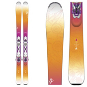 K2 Luv Struck 80 Womens Skis with Marker ER3 10 TC Bindings 2016, , medium