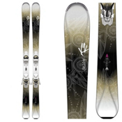 K2 Beluved 78Ti Womens Skis with Marker ER3 10 Bindings 2016, , medium