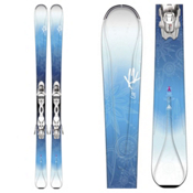 K2 Luv 75 Womens Skis with Marker ERP 10 Bindings, , medium