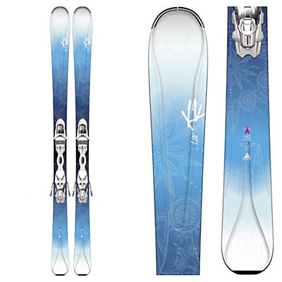 K2 Luv 75 Womens Skis with Marker ERP 10 Bindings, , viewer
